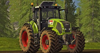 Трактор Claas Axion 800 для Farming Simulator 2017