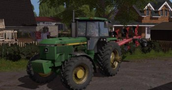Трактор JOHN DEERE 4755 для Farming Simulator 2017