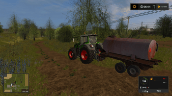 Бочка ROU-6 V1.0 для Farming Simulator 2017