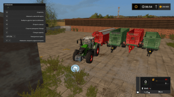 Прицеп Krampe Bandit 980 v 1.0 для Farming Simulator 2017