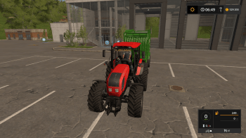 Трактор BELARUS MTZ 2022.3 для Farming Simulator 2017
