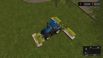 Косилка CLAAS MOWER COMBINATION V1 для Farming Simulator 2017