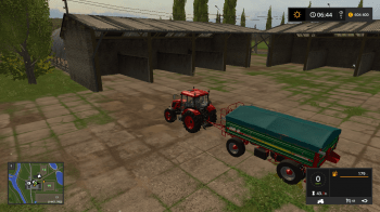 Навес OLD STORAGE SHED V1.0 для Farmimg Simulator 2017