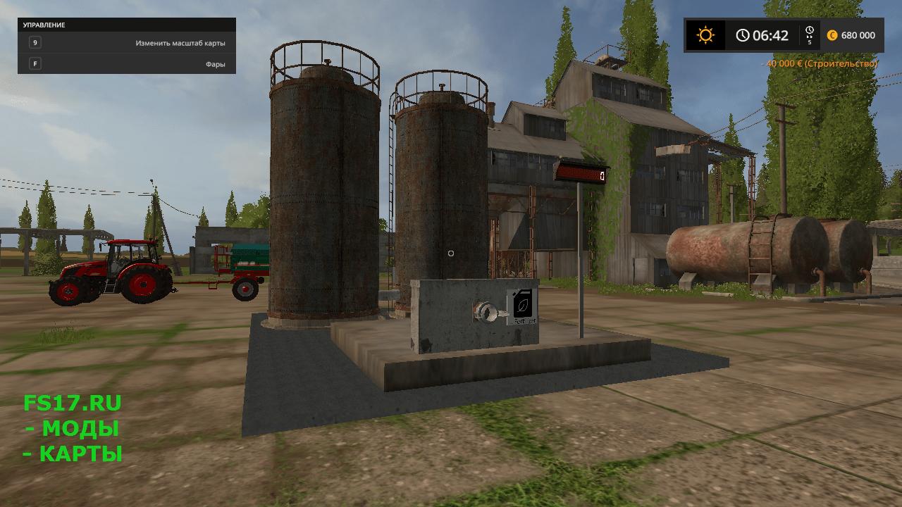 мод на строительство симулятор фермер 2017