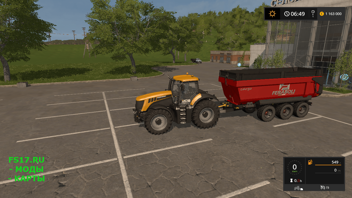 Прицеп Feraboli Dumper v 1.0 для Farming Simulator 2017