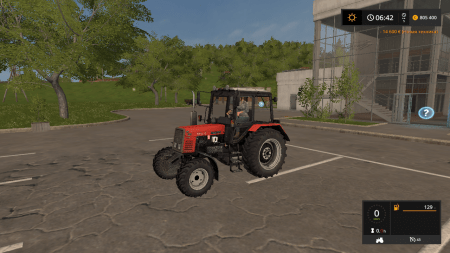 Трактор МТЗ 892 v 2.1 для Farming Simulator 2017