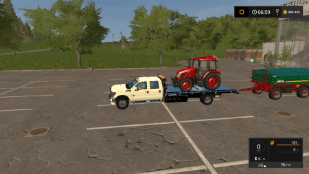 Эвакуатор Ford Super Duty v1.0 для Farming Simulator 2017