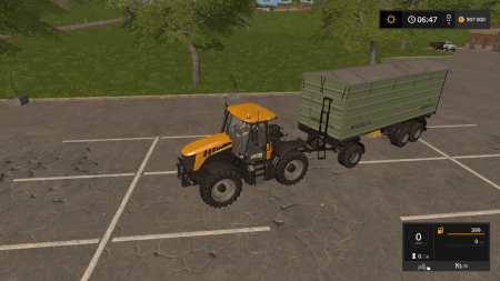 Прицеп CASELLA 3 WSB V1.0 для Farming Simulator 2017