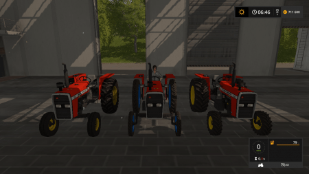 Трактор MASSEY FERGUSON 265 V1.0 для Farming Simulator 2017.