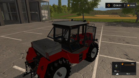 Трактор PROGRESS ZT323 SB V1.0 для Farming Simulator 2017.