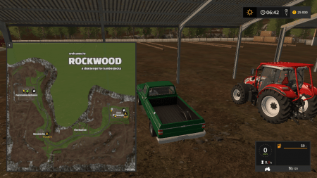 Карта ROCKWOOD V1.2 TEXTURE FIXED для Farming Simulator 2017