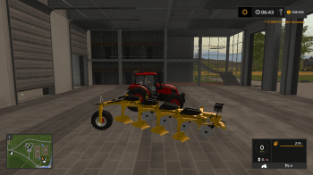 Плуг SALFORD4204 YELLOW V1.0 для Farming Simulator 2017