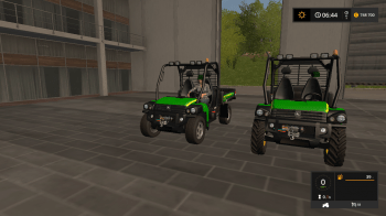 Квадроцикл JOHN DEERE HPX-GATOR V1.0 для Farming Simulator 2017