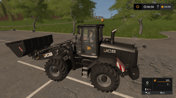 Погрузчик JCB 435s Black V 1.0 для Farming Simulator 2017