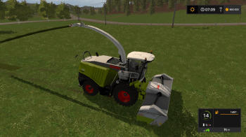 Комбайн Claas Jaguar 900 Series v 3.1 Final Beast для Farming Simulator 2017