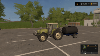 Бочка для воды WATTRANS 2500 V1.0.0 для Farming Simulator 2017