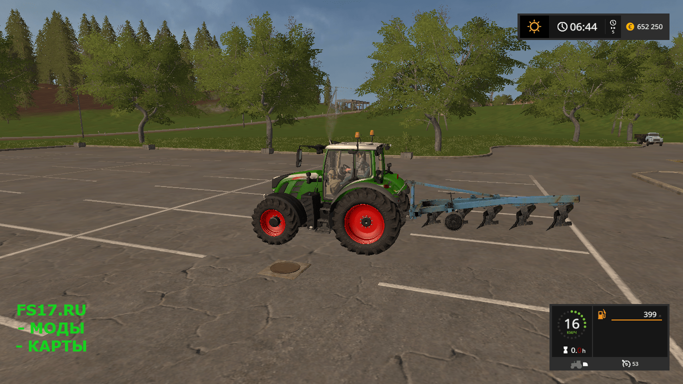 Плуг ПЛН 5х35 для Farming Simulator 2017