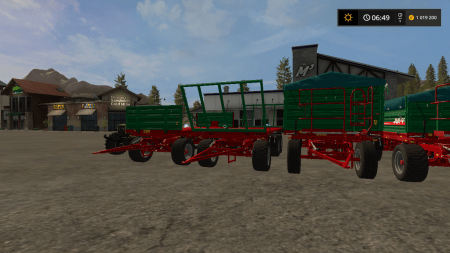 Пак прицепов METALTECH для Farming Simulator 2017