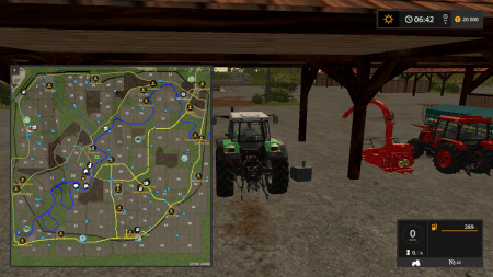 Карта MONCHWINKEL V0.96 для Farming Simulator 2017