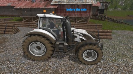 Скрипт DIRTY RAIN V1.0 для Farming Simulator 2017