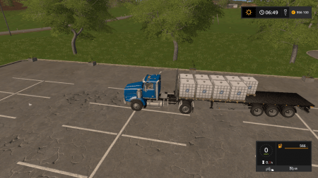 Полуприцеп FLIEGL FLATBED AUTOLOAD V5.0 для Farming Simulator 2017