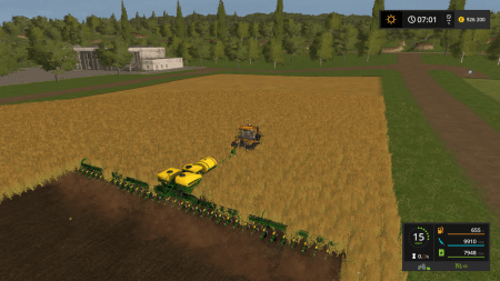 Сеялка JOHN DEERE DB 90 V1.0 для Farming Simulator 2017