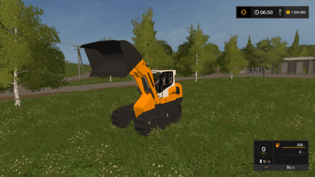 Погрузчик LIEBHERR 634 V1.0 для Farming Simulator 2017