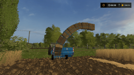Тюкопресс PROGRESS K 454 SMALL BALER V1.0 для Farming Simulator 2017