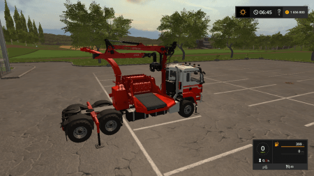 Тягач MAN A. Helmer B.V. TGS Jenz HEM583 v 1.0.0.0 для Farming Simulator 2017
