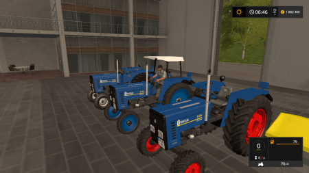 Трактор NEW HOLLAND 55-56S V1.0 для Farming Simulator 2017