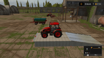 Рампа для Farming Simulator 2017