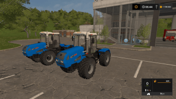 Трактор ХТЗ 17221-09 V1.0 для Farming Simulator 2017