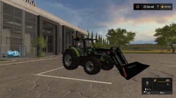 Трактор DEUTZ FAHR 5130 TTV V1.5.9 для Farming Simulator 2017