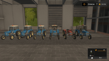 Пак тракторов ZETOR UR1  V0.2.0 для Farming Simulator 2017