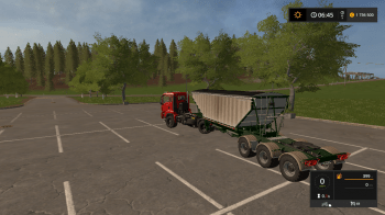 Пак прицепов MBJ Semi-trailer v 1.0 для Farming Simulator 2017
