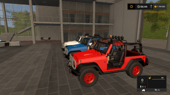Автомобиль JEEP WRANGLER V1.0 для Farming Simulator 2017