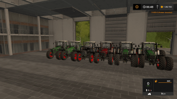 Трактор FENDT FAVORIT 816-824 V3.0 FINAL для Farming Simulator 2017.