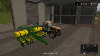 Сеялка JOHN DEERE 12 ROW SEEDER V1.0 для Farming Simulator 2017