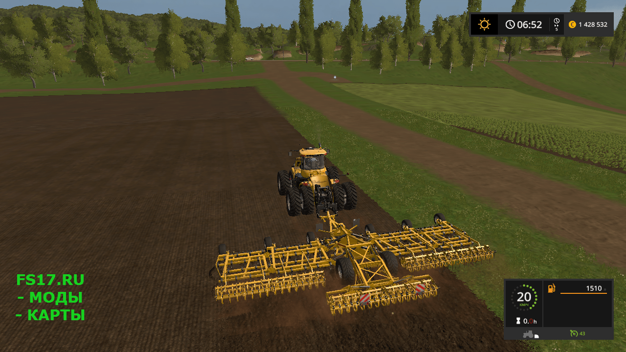 Культиватор KOECKERLING ALLROUNDER V1 для Farming Simulator 2017