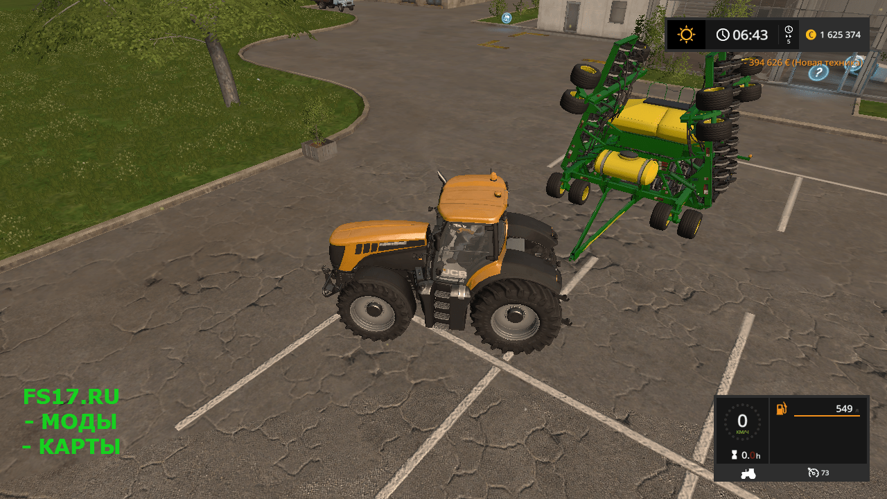 Сеялка JOHN DEERE 1990CCS V1.0 для Farming Simulator 2017