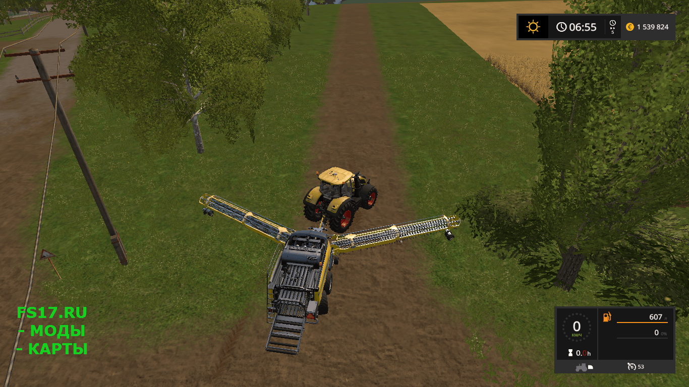 Тюкопресс New Holland BB1290 + Nadal R90 Telescopic версия 1.0 для Farming Simulator 2017