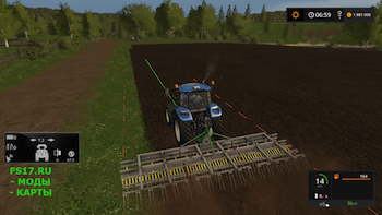 Полольник JOSKIN SCARIFLEX 720 V1.0 для Farming Simulator 2017
