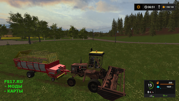Самоходная косилка КПС 5Г v 1.2 для Farming Simulator 2017