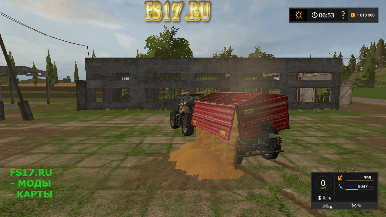 Пак прицепов METALTECH DB PACK V1.0.0.0 для Farming Simulator 2017