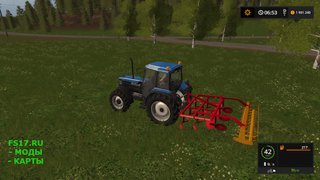 Культиватор POTTINGER SYNKRO 2600 V1.0 для Farming Simulator 2017