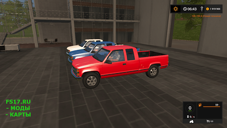 Пикап CHEVROLET C1500 AUTOLOAD V1.0 для Farming Simulator 2017