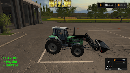 Трактор DEUTZ FAHR 6.11 V1.0 для Farming Simulator 2017