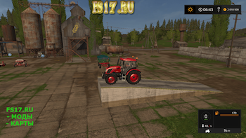 Рампа v 1.0.0.1 для Farming Simulator 2017