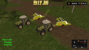 Тюкопресс CLAAS MARKANT 40 v 1.1 для Farming Simulator 2017