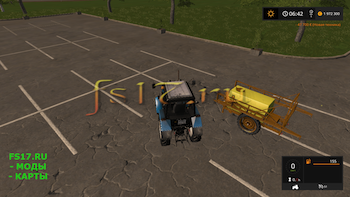 Опрыскиватель DUBEX SPRAYER V1.1 для Farming Simulator 2017